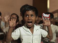 Child in Sugra's class